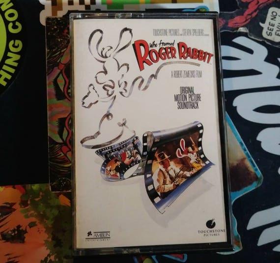 who framed roger rabbit soundtrack cassette - Who Framed Roger Rabbit Soundtrack
