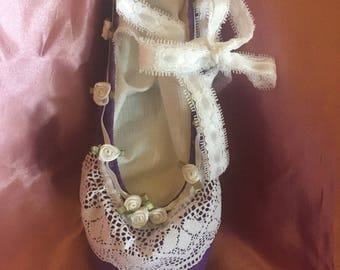 Vintage Fairytale Decorative Pointe Shoe