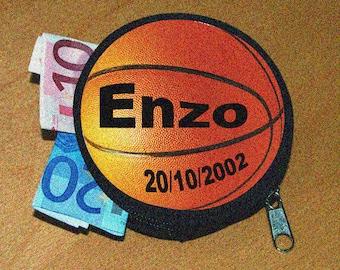 Wallet custom basketball name or text