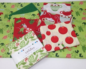 Not Even a Mouse & Solistice Holiday Fabric Bundle
