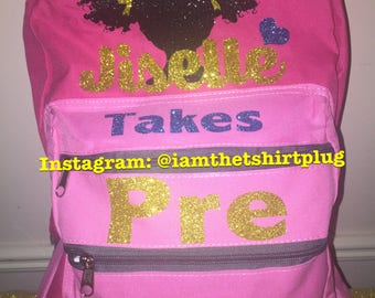 """Personalized Backpacks 17"""" Pick up Only"""