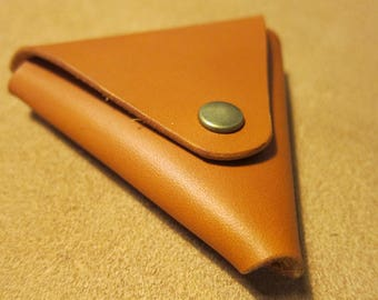 Leather wallet original triangle