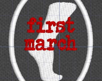 Resistance Scouts First March merit badge patch resist politics antifa feminist leftist