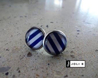 Stainless steel - 12 mm earrings