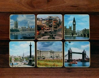 Boxed London Sights Placemats