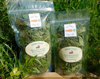 Herb feast,Dried organic medicinal herbs for Rabbits and Guinea pigs