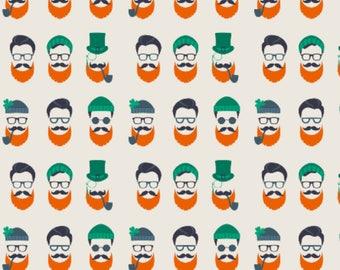 HIPSTER LEPRECHAUNS - PREORDER - St. Patrick's Day Clover - reversible pet bandana - dog bandana - cat bandana - unique pet accessory