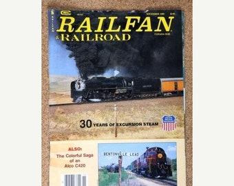 Railfan & Railroad Magazine November 1990
