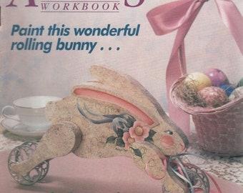 Decorative Artists Workbook Patterns Inside April 1989 Tips on Design & Selling