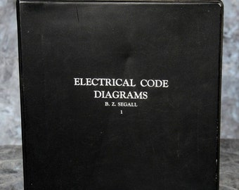 ELECTRICAL CODE DIAGRAMS B. Z. Segall - 1 -- 3rd Ed 1959 Supplementary 1965