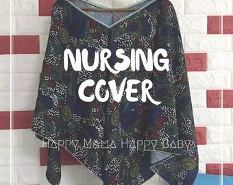 Poncho Style Nursing Cover