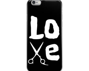 Hairstylist Love My Job iPhone Case - Iphone 7 case - Iphone 8 case - Iphone 7 plus case - Iphone 6 case - Iphone X case
