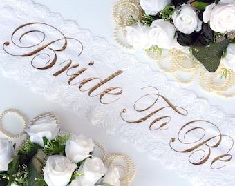 Bachelorette Sashes, Bride To Be Sash, Personalized Bachelorette Sash, Bridal party sash, Style A