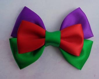 Ariel Bow | Ariel Inspired Hair Bow | The Little Mermaid Inspired | Disney Inspired Hair Bow