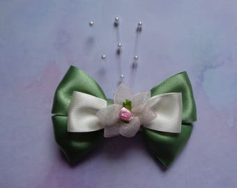 Tiana Hair Bow | Princess And The Frog Inspired | Disney Inspired Hair Bow