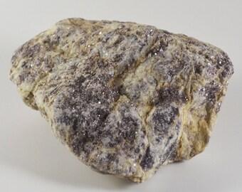 Purple Lepidolite/Raw/Healing Stone/Crystal/Reiki/Shamanic