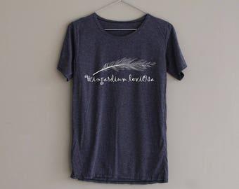 Wingardium Leviosa Shirt Harry Potter Shirt TShirt Slouchy Shirt Women T-Shirt T Shirt Tee Top