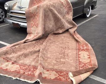 9x12 Antique Chinese Hand Knotted Rug