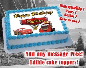 Edible Image Cake Kl : Sugar icing sheet Etsy