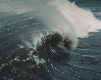 Wave Art / Wave Print / Ocean Art / Wave Art Print / Fine Art / Florida Photography / Photography Print / Juno Beach / Print Wall Art