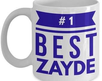 Best Zayde Gift Coffee Mug Novelty Tea Cup