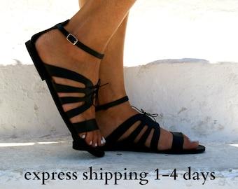 Cassandra Sandals Women Greek Leather Sandals Roman Sandals