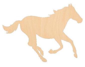 Horse 2 - Laser Cut Shapes - LCSH-105