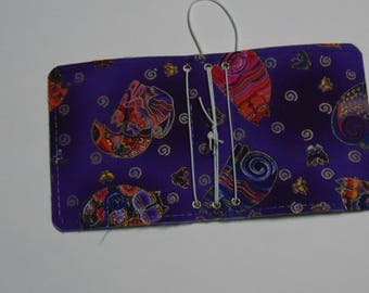 Purple Cat Micro Traveler's Notebook Cover