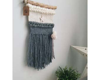 Woven wall hanging / tapestry / wall hanging for child