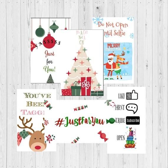 christmas tags folded gift tags gift tags holiday tags social