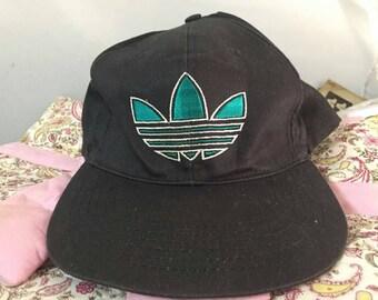 Vintage 90s Adidas trefoil cap free size