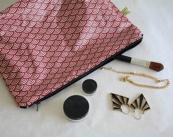Vanity Case Toilet Bag coats organic cotton