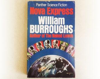 William Burroughs - Nova Express - Panther sci fi vintage paperback book - 1972