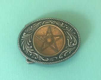 Vintage Eastern Star belt buckle, Men's belt buckle, women's belt buckle, Eastern Star accessories, belt buckles, OES, masonic buckle