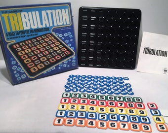 1981 The Game Of Tribulation Complete in Great Condition FREE SHIPPING