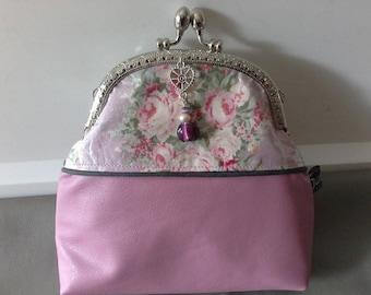 Handbag Lotta Leather imitat vintage