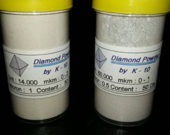 50 Carats Diamond Powder Purest Faceting/polishing Quality.