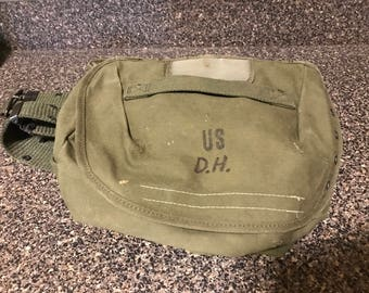 Vintage Military Army/USMC Canvas Combat Field Butt Pack