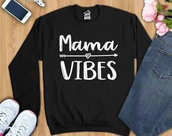 Mama shirt, mama vibes shirt, mama tshirt, mama shirts, mama gifts, mama t-shirt, shirt for mama, gift for mama, momlife shirt, mom shirt