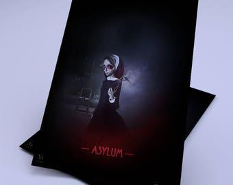 Asylum - 20 X 25 - limited EDITION