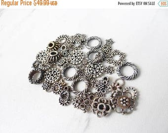 63% End of Summer Sale Wholesale lot---Sterling silver .925 spacers/various sizes/56 spacers