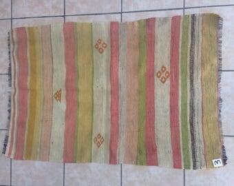 Anatollion rug,Yellow rug, Handmade rug,Ethnic pattern rug,Turkey nomad rug,Hand woven rug