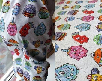 Stained Glass Monster's Romper