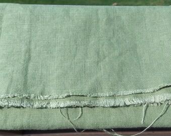 Moss Green Fabric Scrap