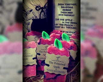 The Poisoned Apple  Handmade Soap 5oz.
