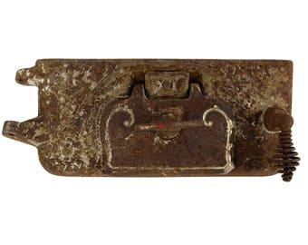 Antique Florence Hot Blast No. 75 Pot Belly Parlour Stove Lower Door
