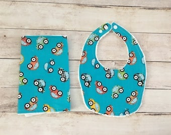 Cars baby drool bib Burp cloth set for boys  burp rags boys Dribble bib Bibs for boys Baby shower gift Baby accessories