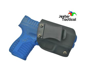 """Springfield XDS 4.0"""" 9mm/45ACP Custom Kydex IWB Holster for Concealed Carry"""