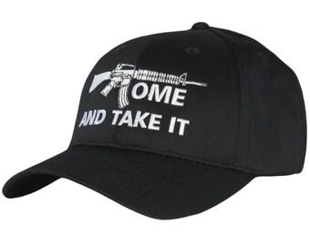 Come and Take It 2nd Amendment Hat Gun Rights Second Amendment Cap