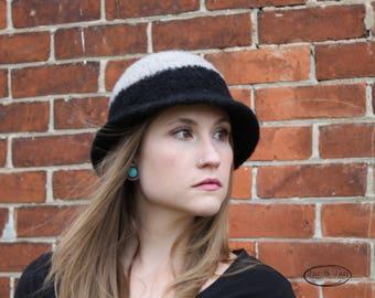 Crochet Pattern for Savannah Felted Cloche Felted hat crochet pattern Flapper Vintage 1920 Dress Hat